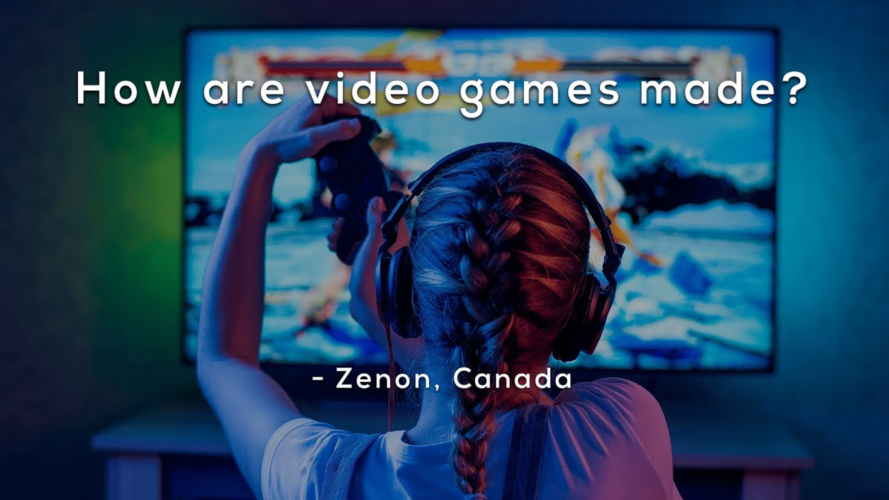 How are video games made?
