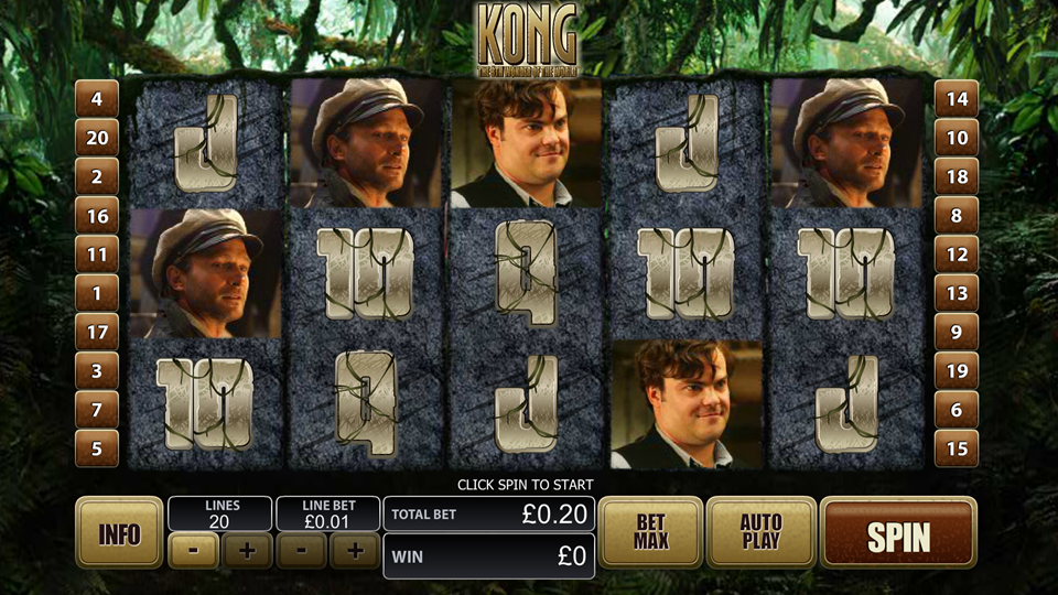 ▷ King Kong Slot Review ◁ by Playtech | Test & Free Play