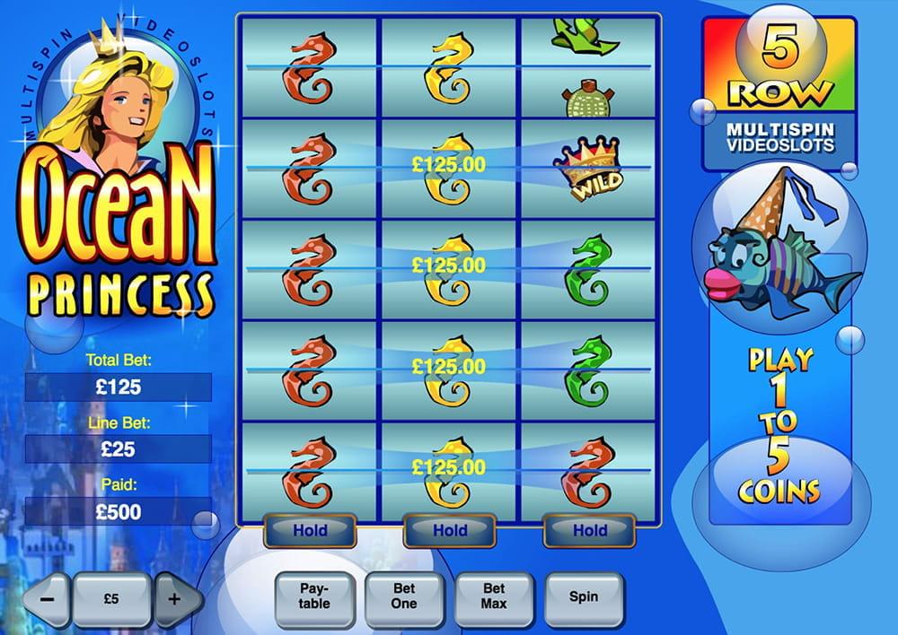 Ocean Princess Slot Review – Find Lost Treasure Under The Sea