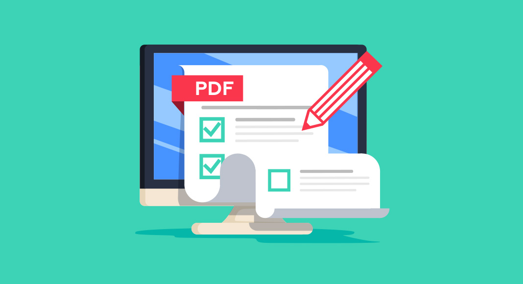 How to create interactive PDF forms via Word or free tools